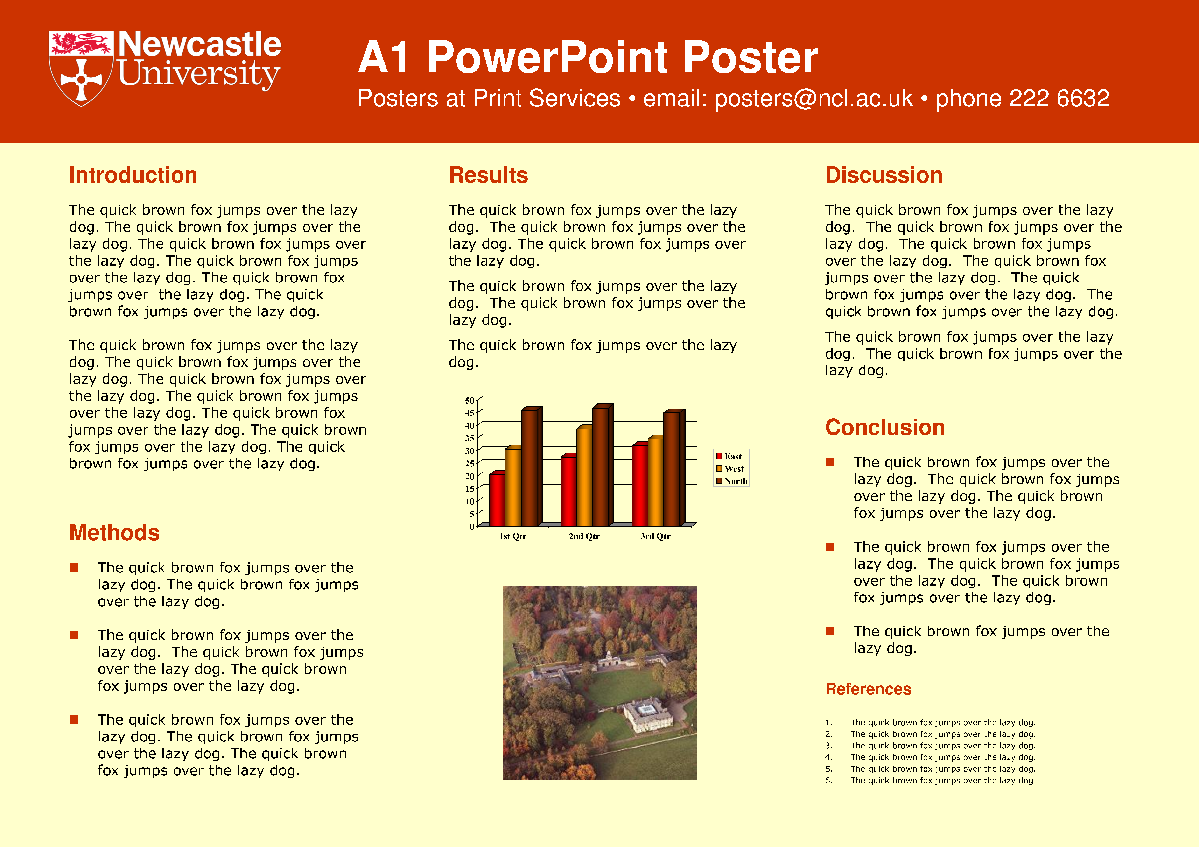 A0 Poster Template Powerpoint. Pics Photos Academic Poster ...